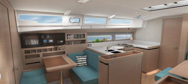 Trend Travel Yachting Jeanneau Sun Odyssey 490, Chartern oder Kaufen. Interieur (17)