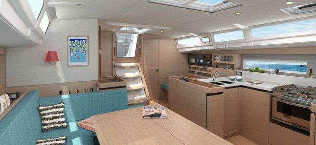 Trend Travel Yachting Jeanneau Sun Odyssey 490, Chartern oder Kaufen. Interieur (15)