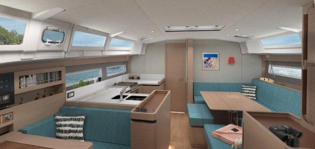 Trend Travel Yachting Jeanneau Sun Odyssey 490, Chartern oder Kaufen. Interieur (16)