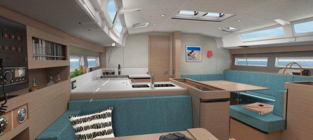 Trend Travel Yachting Jeanneau Sun Odyssey 490, Chartern oder Kaufen. Interieur (14)