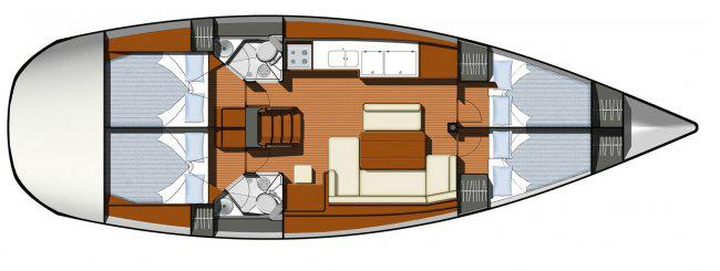 Sun Odyssey 44i Gebrauchtyacht von Trend Travel Yachting