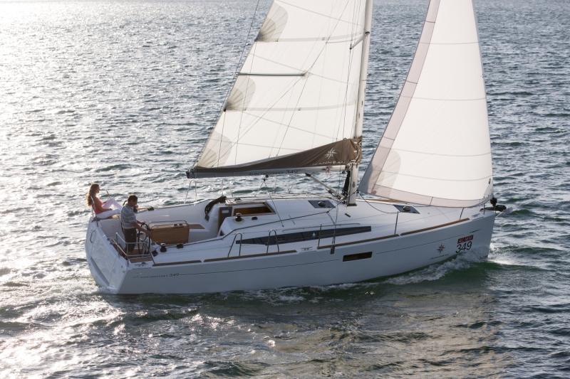 Jeanneau Sun Odyssey 349 unter Segeln (8)