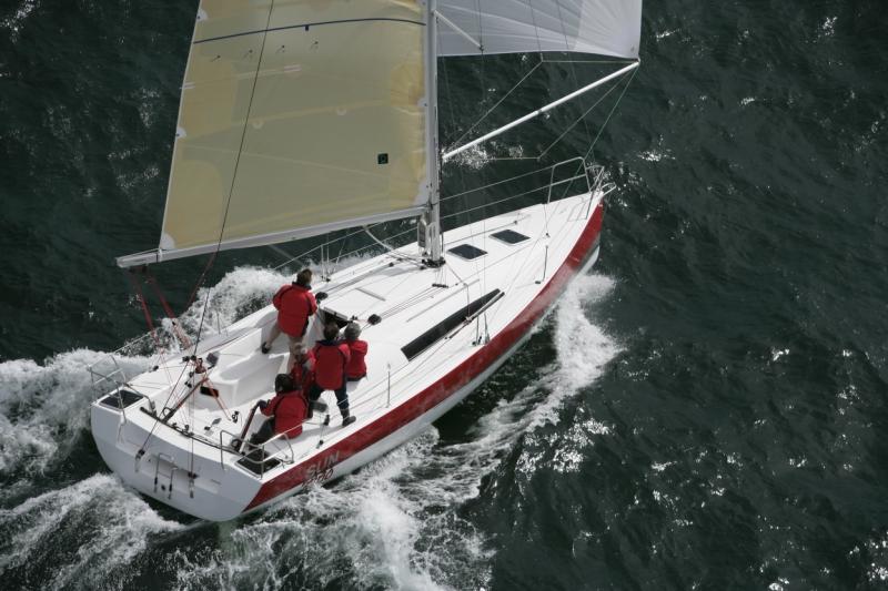 Trend Travel Yachting, Jeanneau Yachten Kaufen oder Chartern. Sun Fast 3200, Unter Segeln (13)