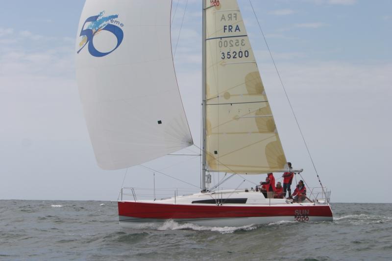 Trend Travel Yachting, Jeanneau Yachten Kaufen oder Chartern. Sun Fast 3200, Unter Segeln (5)