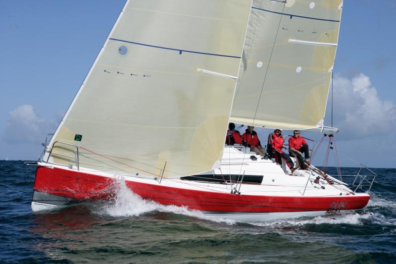 Trend Travel Yachting, Jeanneau Yachten Kaufen oder Chartern. Sun Fast 3200, Unter Segeln (4)