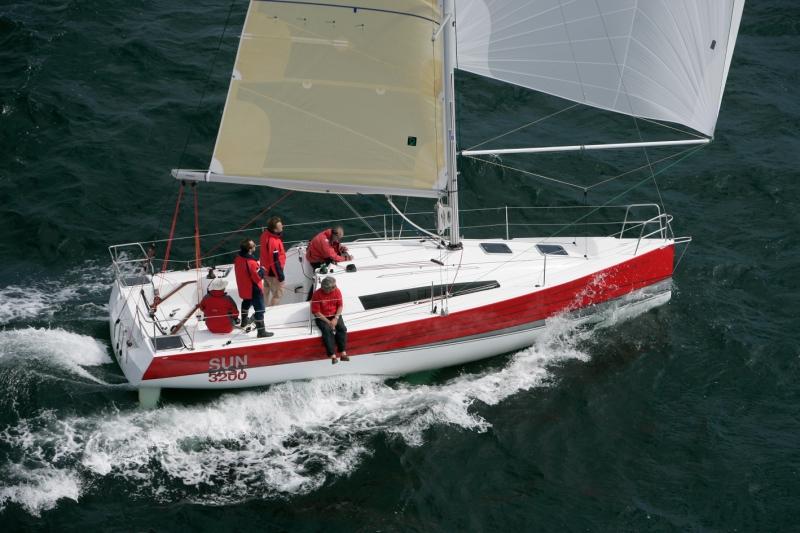 Trend Travel Yachting, Jeanneau Yachten Kaufen oder Chartern. Sun Fast 3200, Unter Segeln (3)
