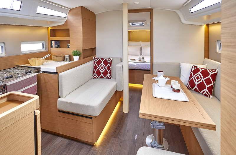 Trend Travel Yachting Sun Odyssey 410 Innen (15)
