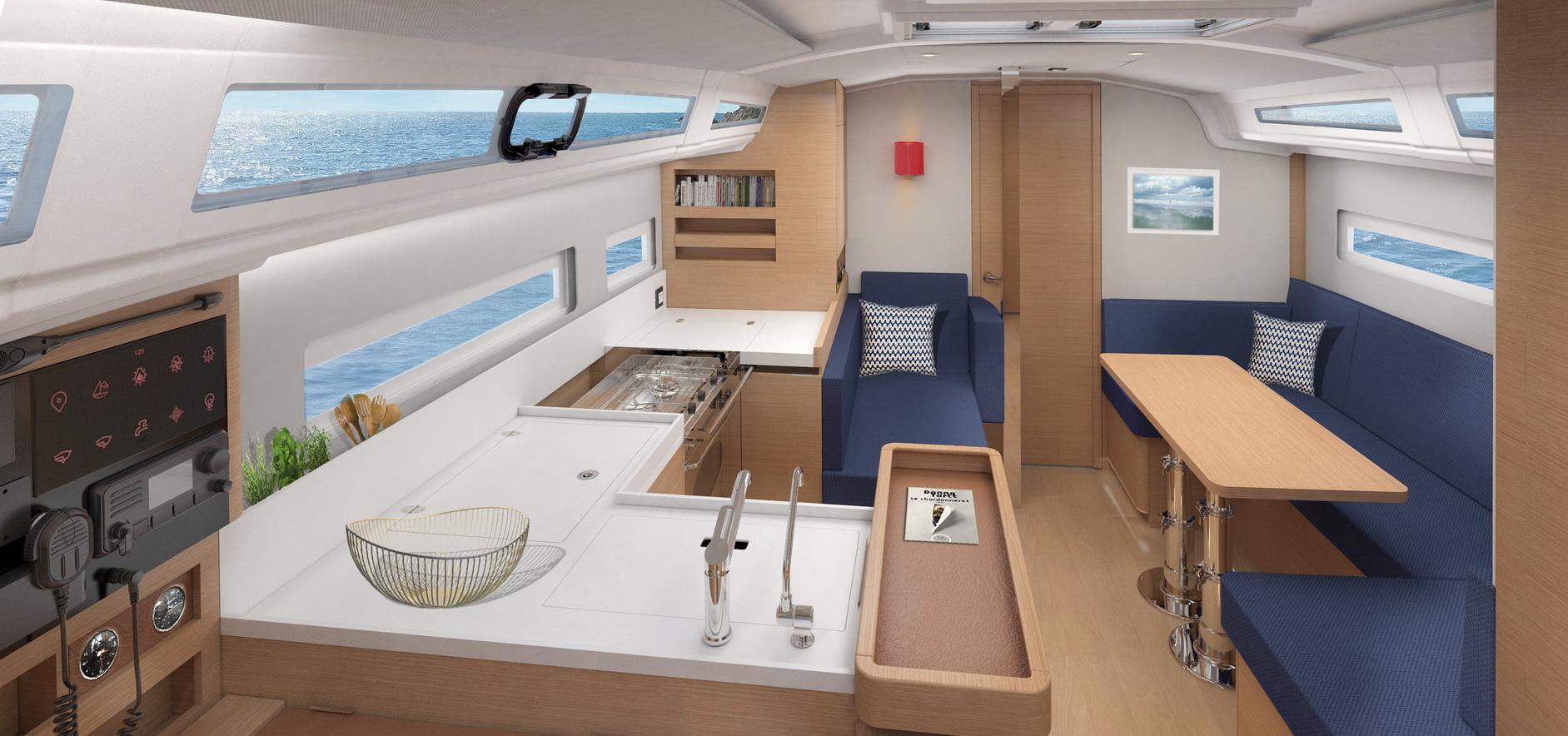 Trend Travel Yachting Sun Odyssey 410 Innen (17)
