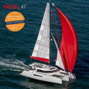 Neel 47 Multihull of the year by Trend Travel Yachting
