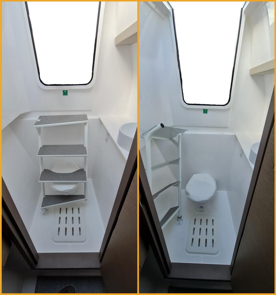 Neel 47 Trimaran Toilette-Niedergang Seitenkabinen von Trend Travel Yachting