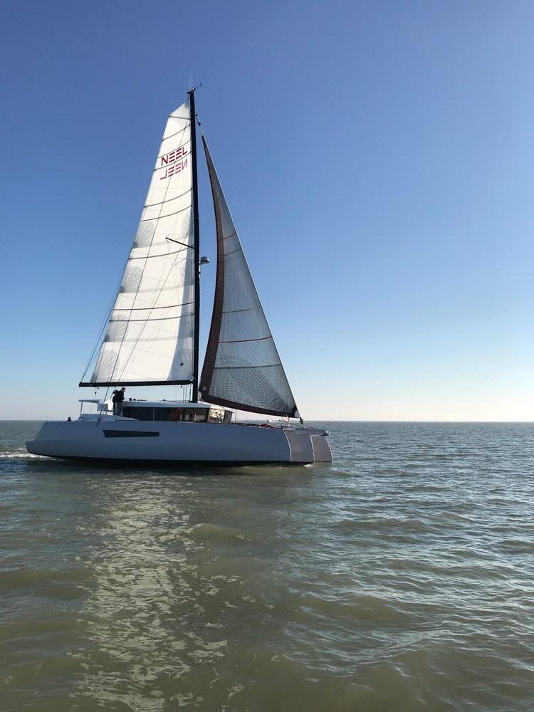 Trend Travel Yachting Neel 47 Trimaran Aussenansicht_4