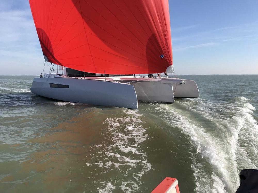 Trend Travel Yachting Neel 47 Trimaran Aussenansicht_6