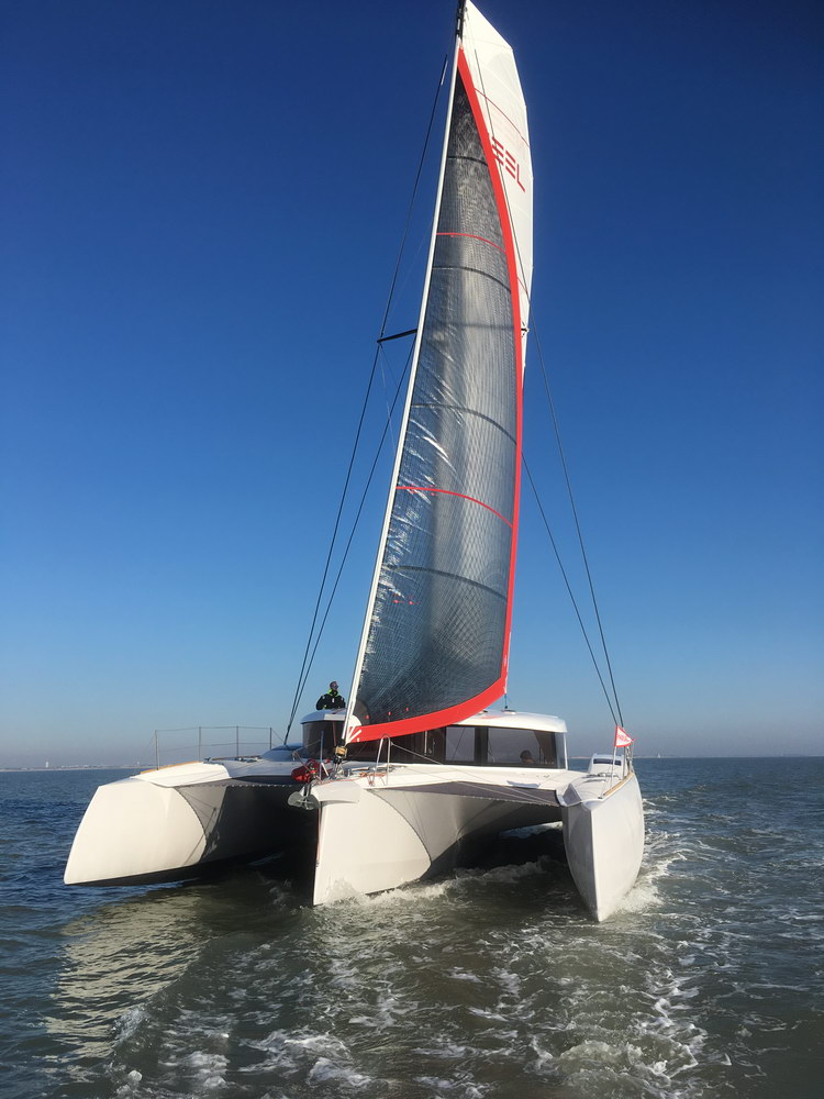 Trend Travel Yachting Neel 47 Trimaran Aussenansicht_7