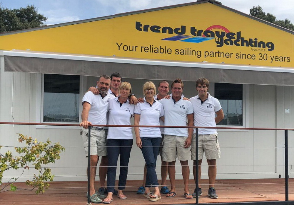 Team Pula Trend Travel Yachting