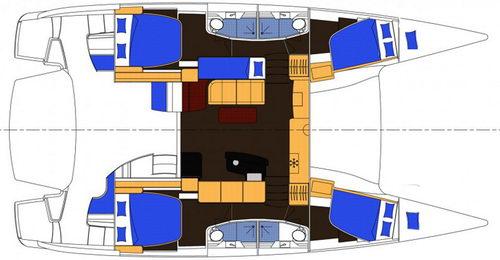 Trend Travel Yachting SALINA 48_grundriss