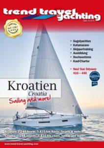 Trend Travel Yachting Kroatien Charter Katalog 2019