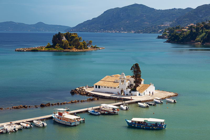 Trend Travel Yachting Charter Korfu - Kloster
