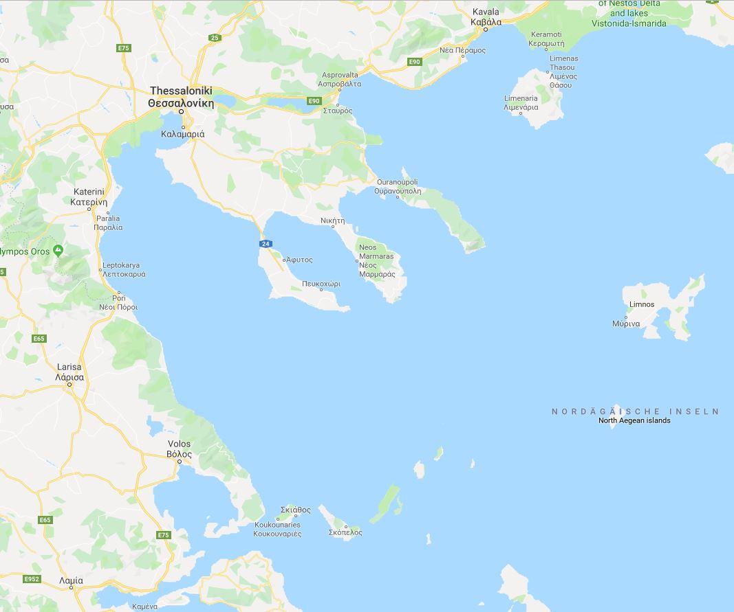 Charter Sporaden Nord-Griechenland