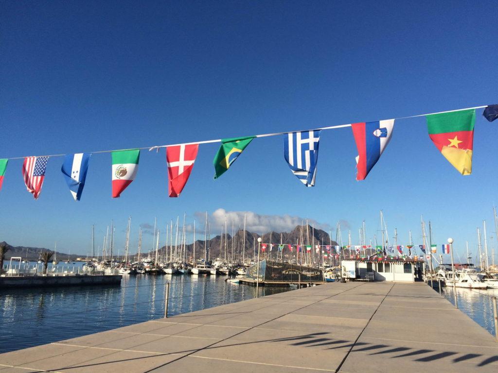 Trend Travel Yachting Marina Mindelo. Charter Basis auf den Kapverden unter deutscher Leitung.