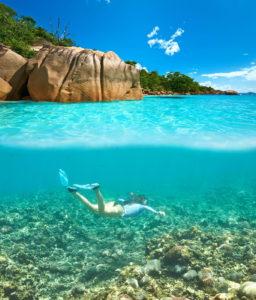 Trend travel yachting Seychellen - Snorcheln bei La Digue