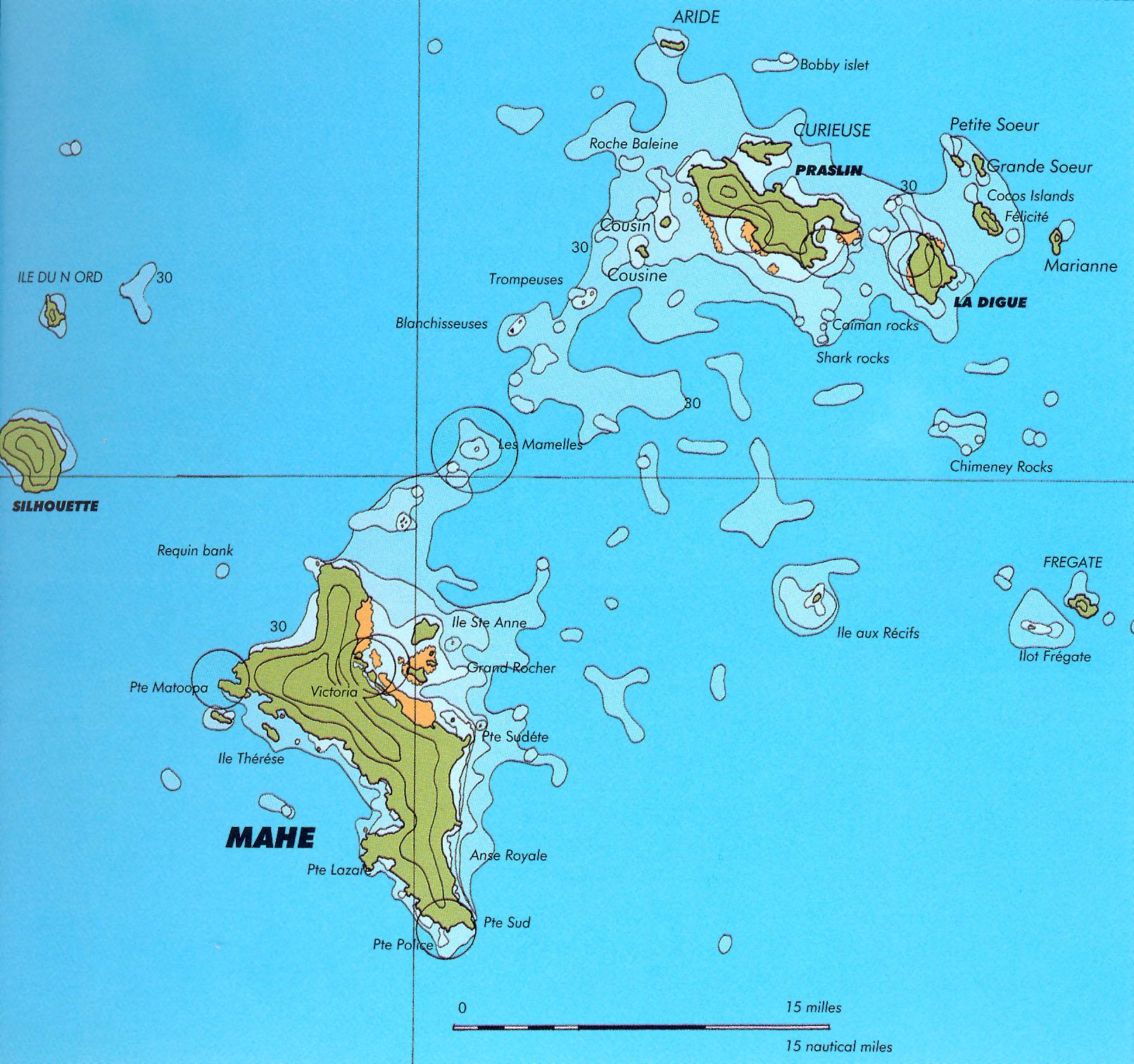 Karte Seychellen.Yachtcharter Auf Den Seychellen Beim Spezialisten Trend
