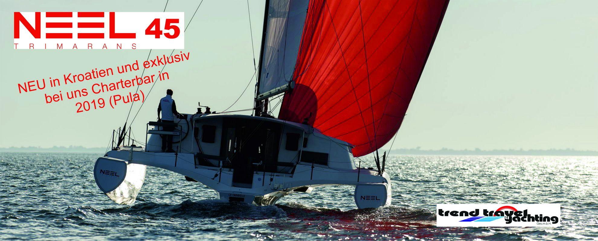Trend Travel Yachting, NEEL 45 Trimaran, zu chartern ab Pula