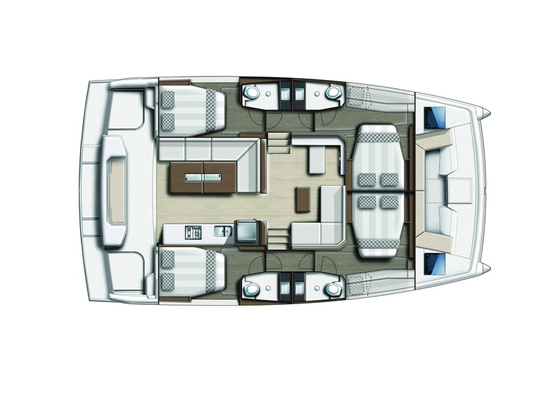 CATSPACE-MY 4 Kabinen by Trend travel Yachting