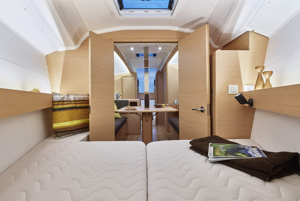 Sun Odyssey 349 by Trend Travel Yachting