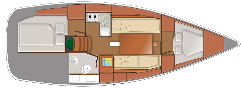 Sun Odyssey 319 gebraucht Trend Travel Yachting_18