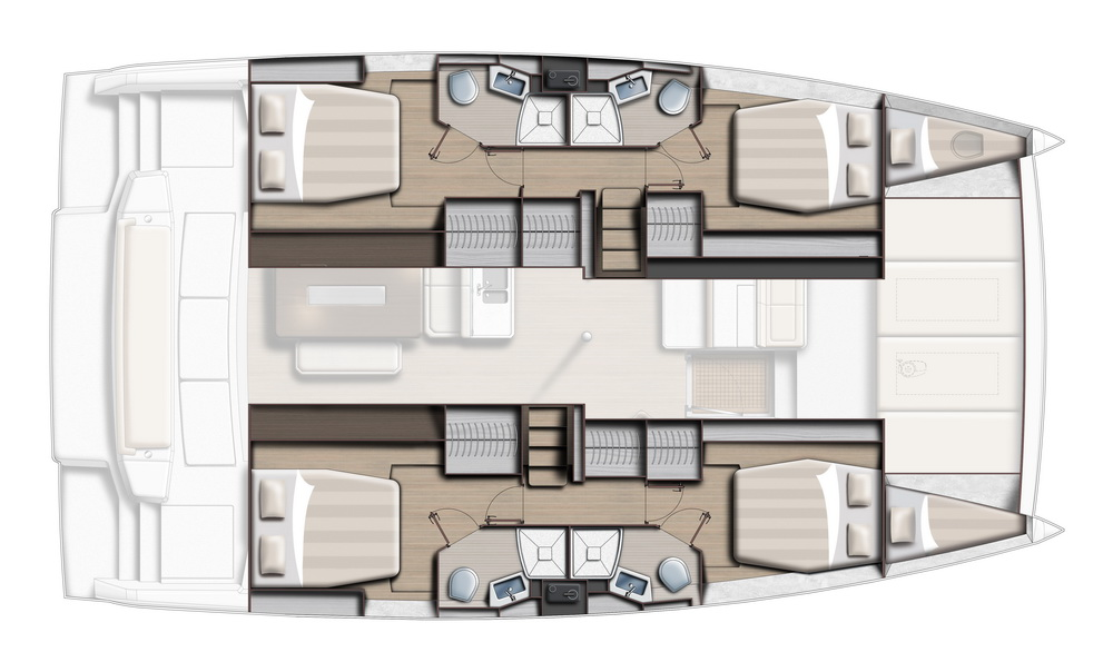 BALI 4.6 by Trend Travel Yachting 4 Kabinen