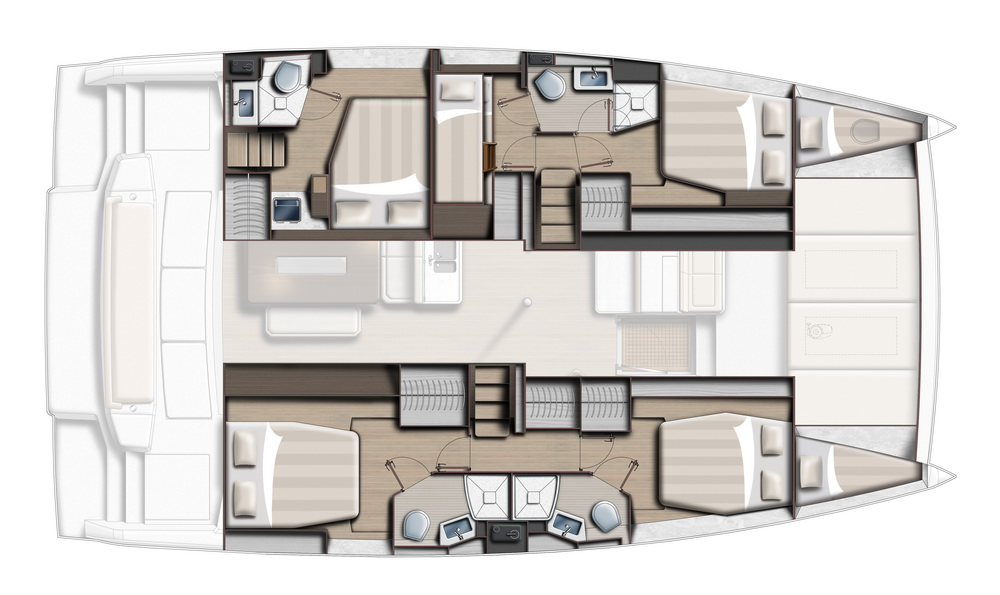 BALI 4.6 by Trend Travel Yachting 5 Kabinen