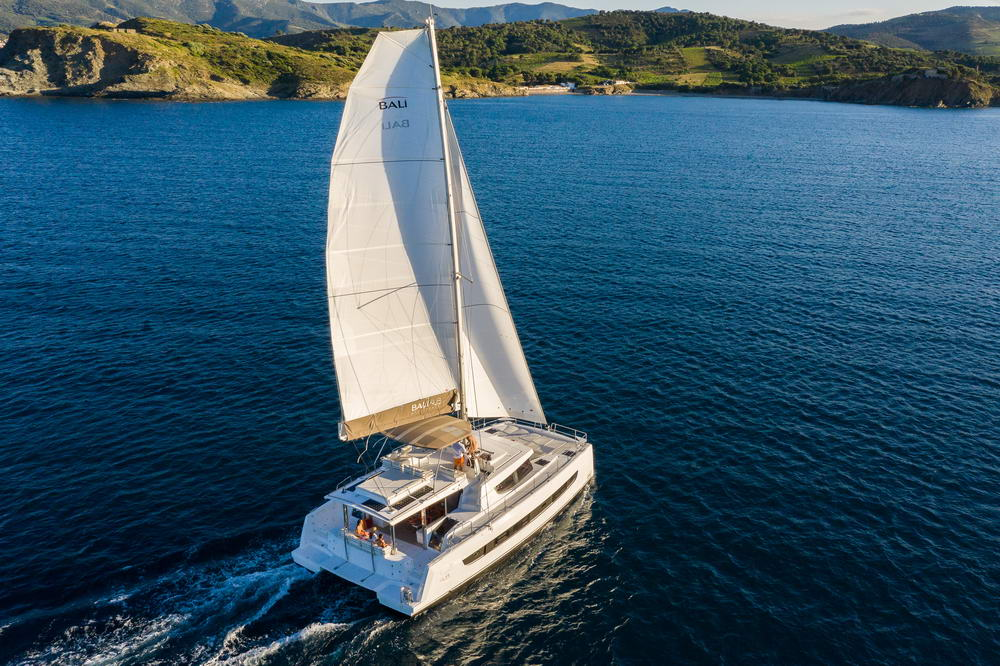Bali 4.8 Katamaran - Catana von Trend Travel Yachting