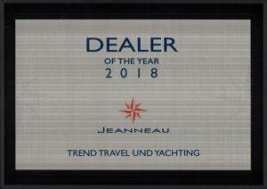Trend Travel Yachting Händler des Jahres Jeanneau Yachts