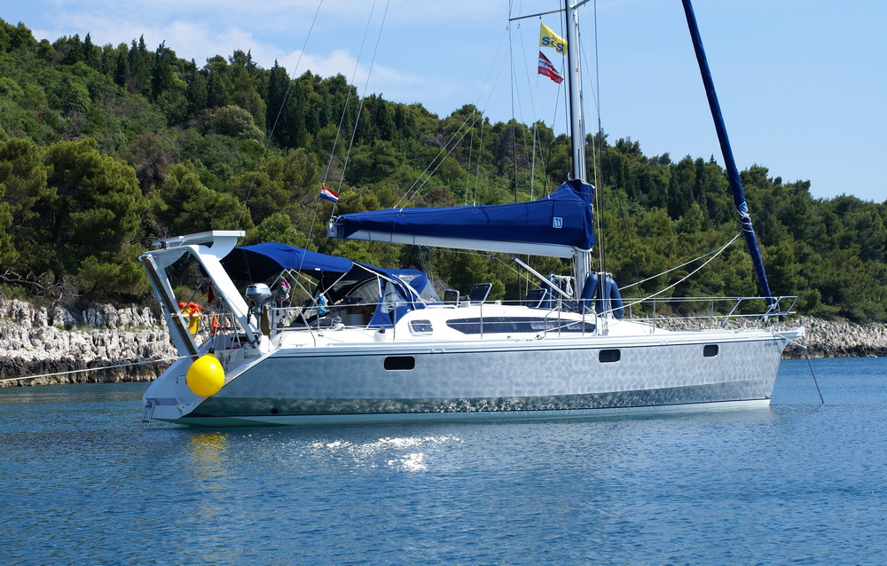 Alubat Ovni 395 Gorgo Charter Yacht Trend Travel Yachting