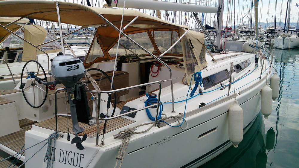 Dufour 405 La Digue Charteryacht Trend Travel Yachting