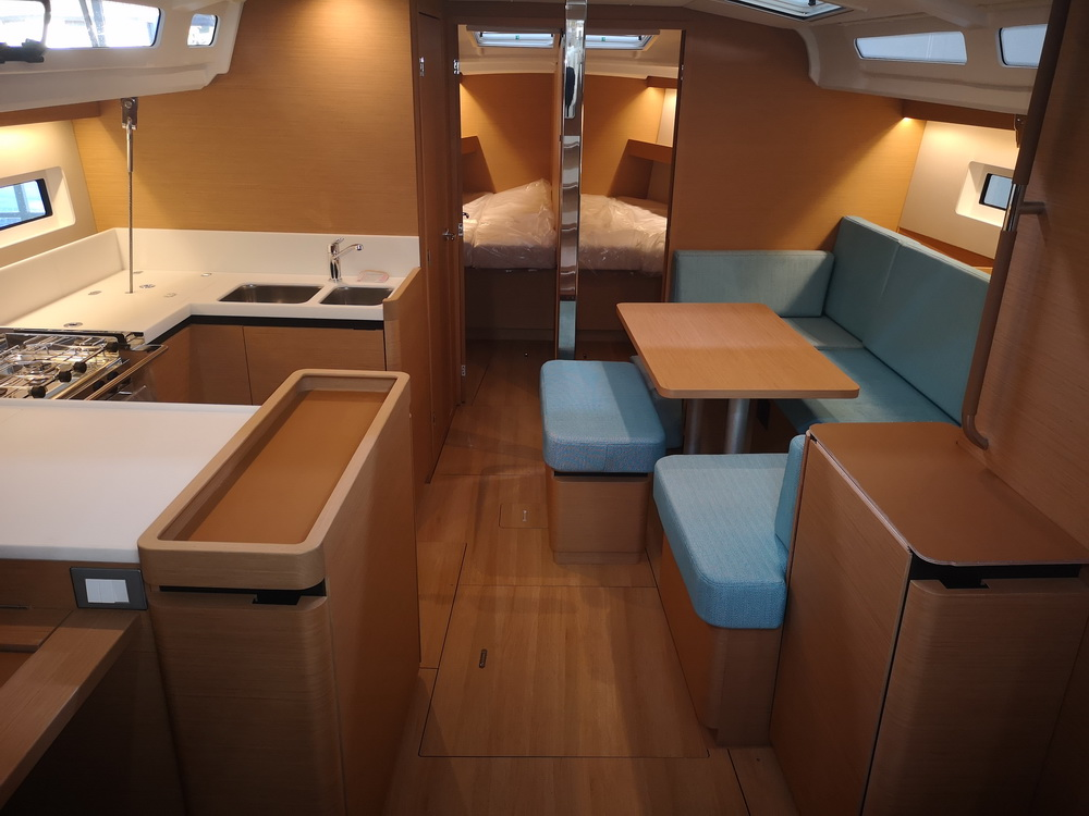 Sun Odyssey 440 Thalaia Charter Yacht by Trend Travel Yachting