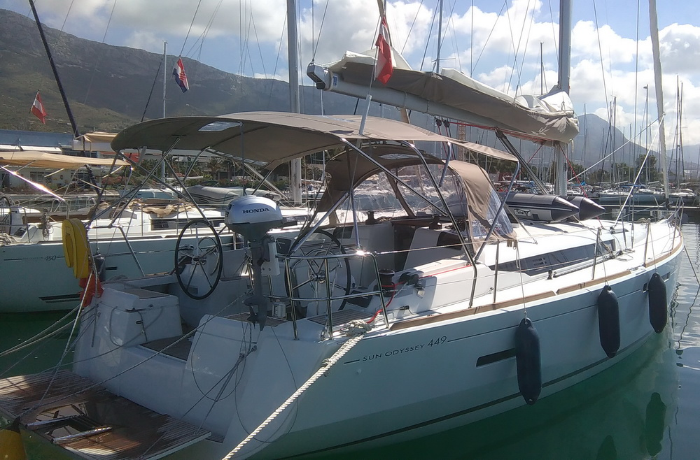 Sun Odyssey 449 10in2 Charter Yacht by Trend Travel Yachting
