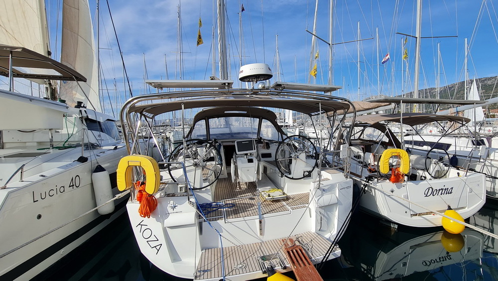 Sun Odyssey 479 Koza Charter Yacht by Trend Travel Yachting
