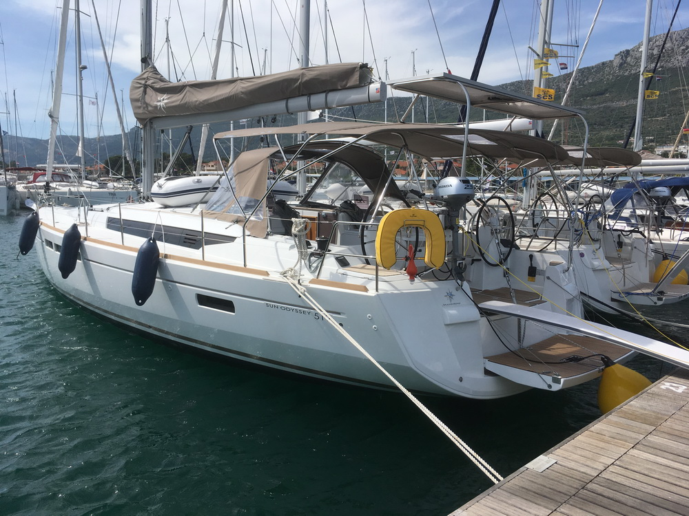 Sun Odyssey 519 My Perseus Charter Yacht by Trend Travel Yachting