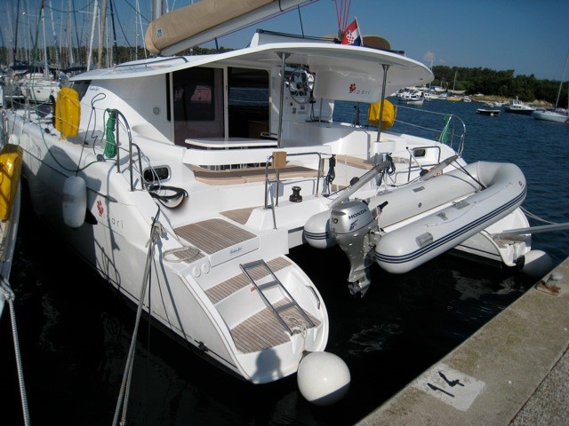 Fountaine Pajot Lipari 41 Marisol Charter Yacht by Trend Travel Yachting