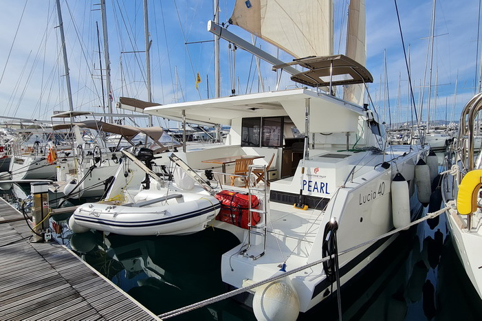 Fountaine Pajot Lucia 40 Pearl Charteryacht by Trend Travel Yachting