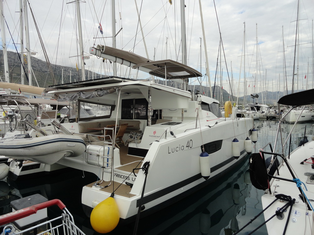Fountaine Pajot Lucia 40 Princess Lea Charteryacht by Trend Travel Yachting
