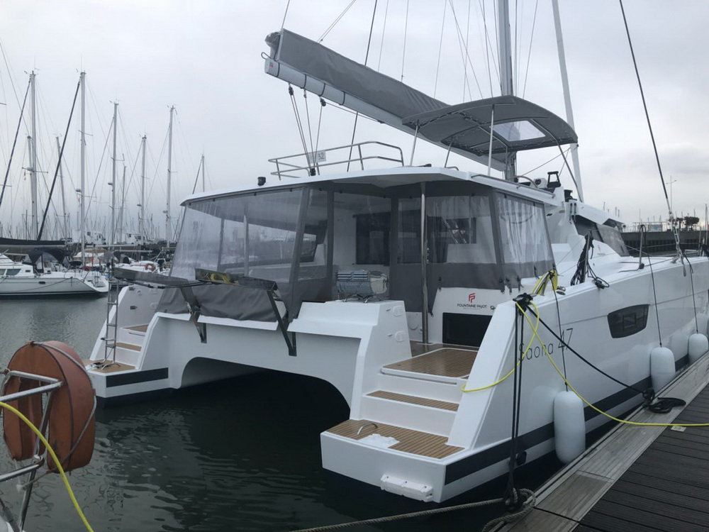 Fountaine Pajot Saona 47 Lucky Alexandra Charter Yacht by Trend Travel Yachting