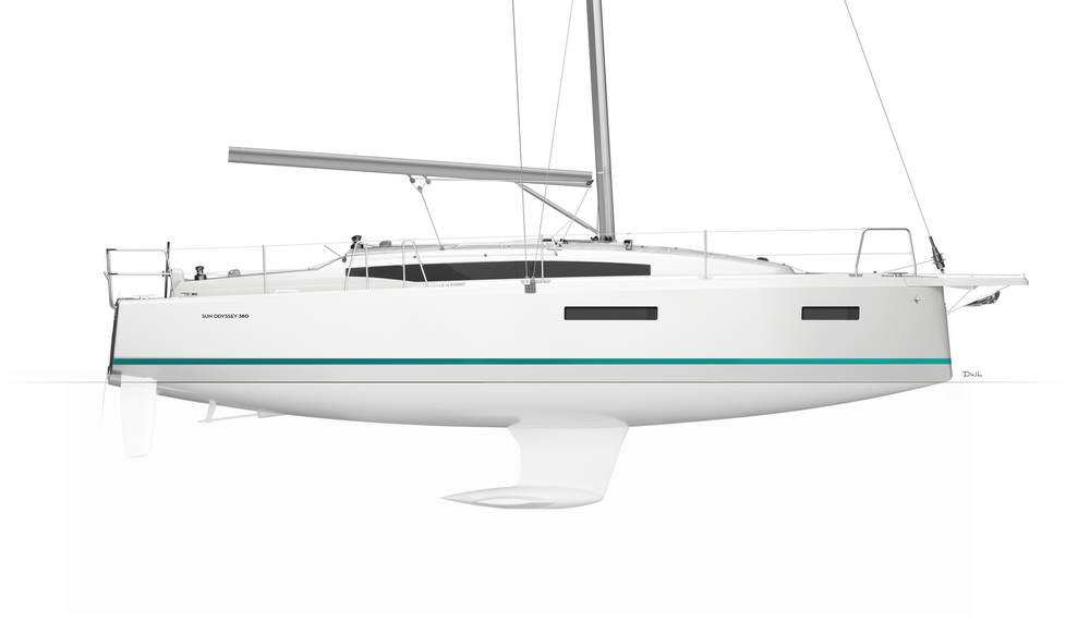 Sun Odyssey 380 by Trend Travel Yachting