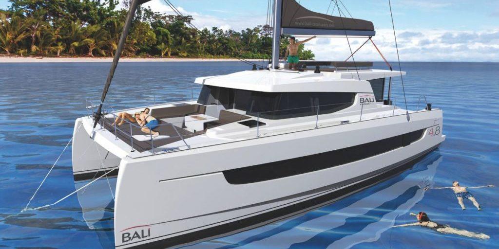 Trend Travel Yachting Bali 4.8 Katamaran Sonnendeck