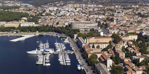 Trend Travel Yachting, Yachtcharter Kroatien ab Pula ACI Marina.