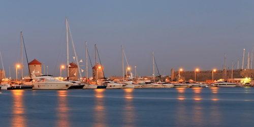 Trend Travel Yachting Charter ab Rhodos Marina Mandraki