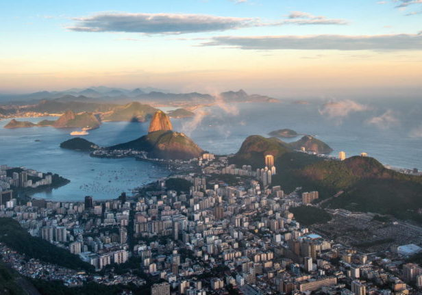 Trend Travel Yachting Brazilien - Rio de Janeiro, Blick vom Corcovado auf Sugarloaf Mountain titel