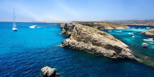 Trend Travel Yachting Charter ab Malta segeln nach Comino