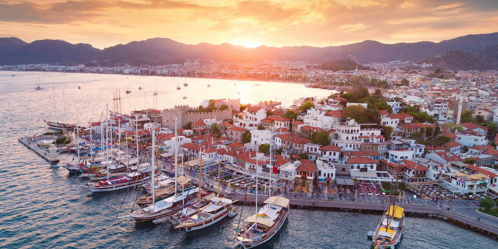 Trend Travel Yachting Marmaris Hafen